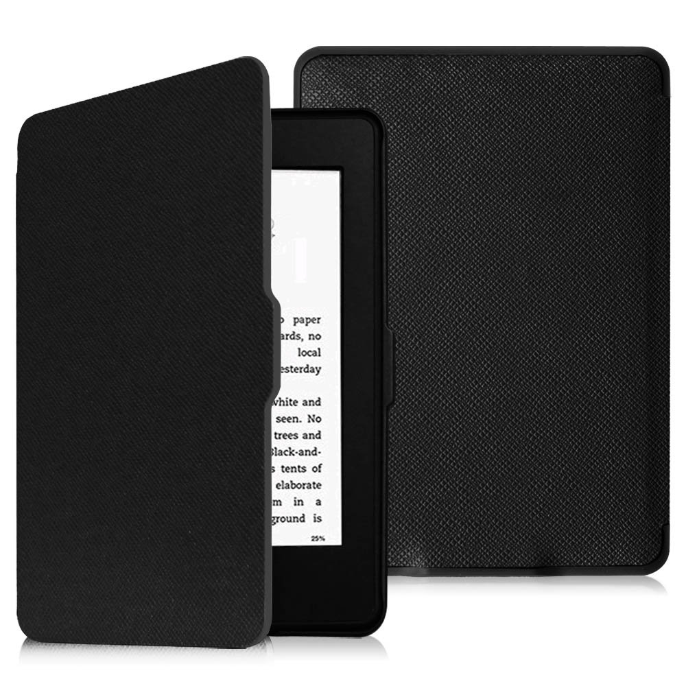 Fintie Case for Kindle Paperwhite - PU Leather Cover with Auto Sleep/Wake for All-New Amazon Kindle Paperwhite (Fits All Generations), Black