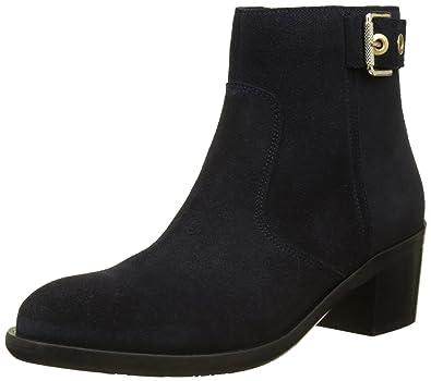 e93c5f1769ee0 Tommy Hilfiger Damen P1285ARSON 13B Chelsea Boots, Blau (Midnight), 36 EU