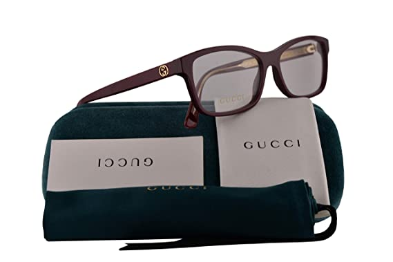 7c14eae538f4 Image Unavailable. Image not available for. Color: Gucci GG0316O Eyeglasses  ...