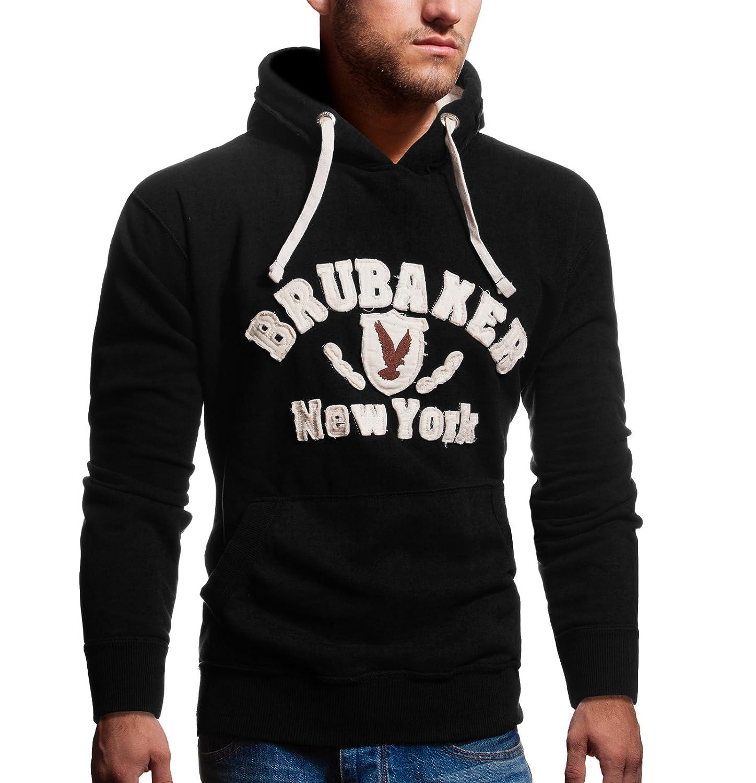 BRUBAKER N. Y. Eagle Men's Hooded Sweatshirt Hoodie