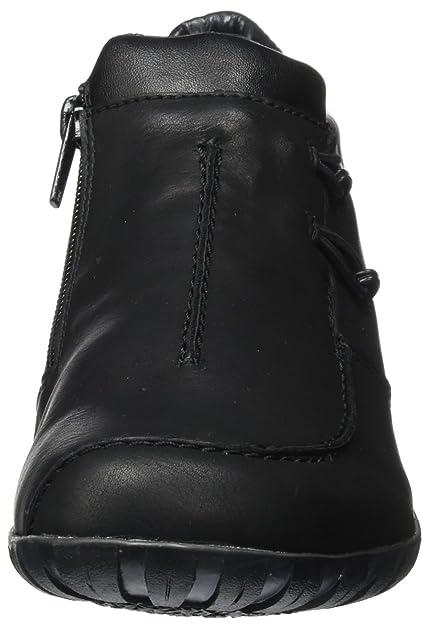 Femmes Bottes L4654, Noir, 3,5 Uk Rieker