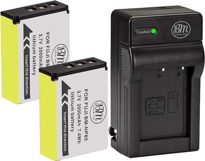 ✅ Fujifilm Np85 Np-85 Batteria Finepix S1 Sl1000 Sl300 Sl305 Sl240 Sl245 Sl260
