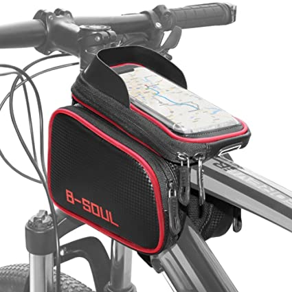 COFIT 3 en 1 Bolsa de Manillar para Bicicleta de Gran Capacidad Verde, Funda para Bicicleta
