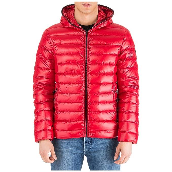 buy popular 5bf28 f85ea Emporio Armani EA7 Piumino Uomo Tango Red M: Amazon.it ...