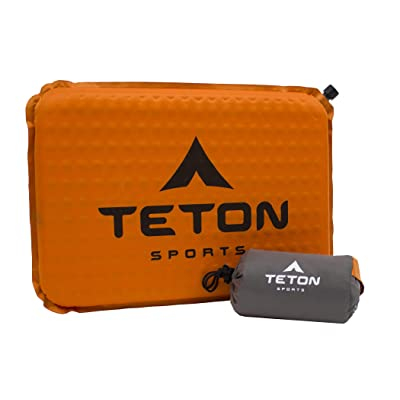 TETON Sports Seat Cushion; No More Hard Stadium Seat Pain; Office Chair; Car : Self Inflating Sleeping Pads : Sports & Outdoors