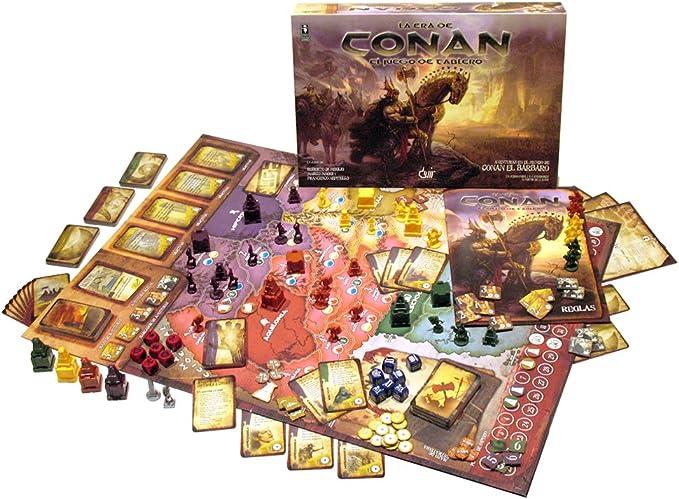 Devir - La Era de Conan, Juego de Mesa (BGCONAN): Amazon.es: Juguetes y juegos
