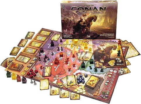 Devir - La Era de Conan, Juego de Mesa (BGCONAN): Amazon.es ...