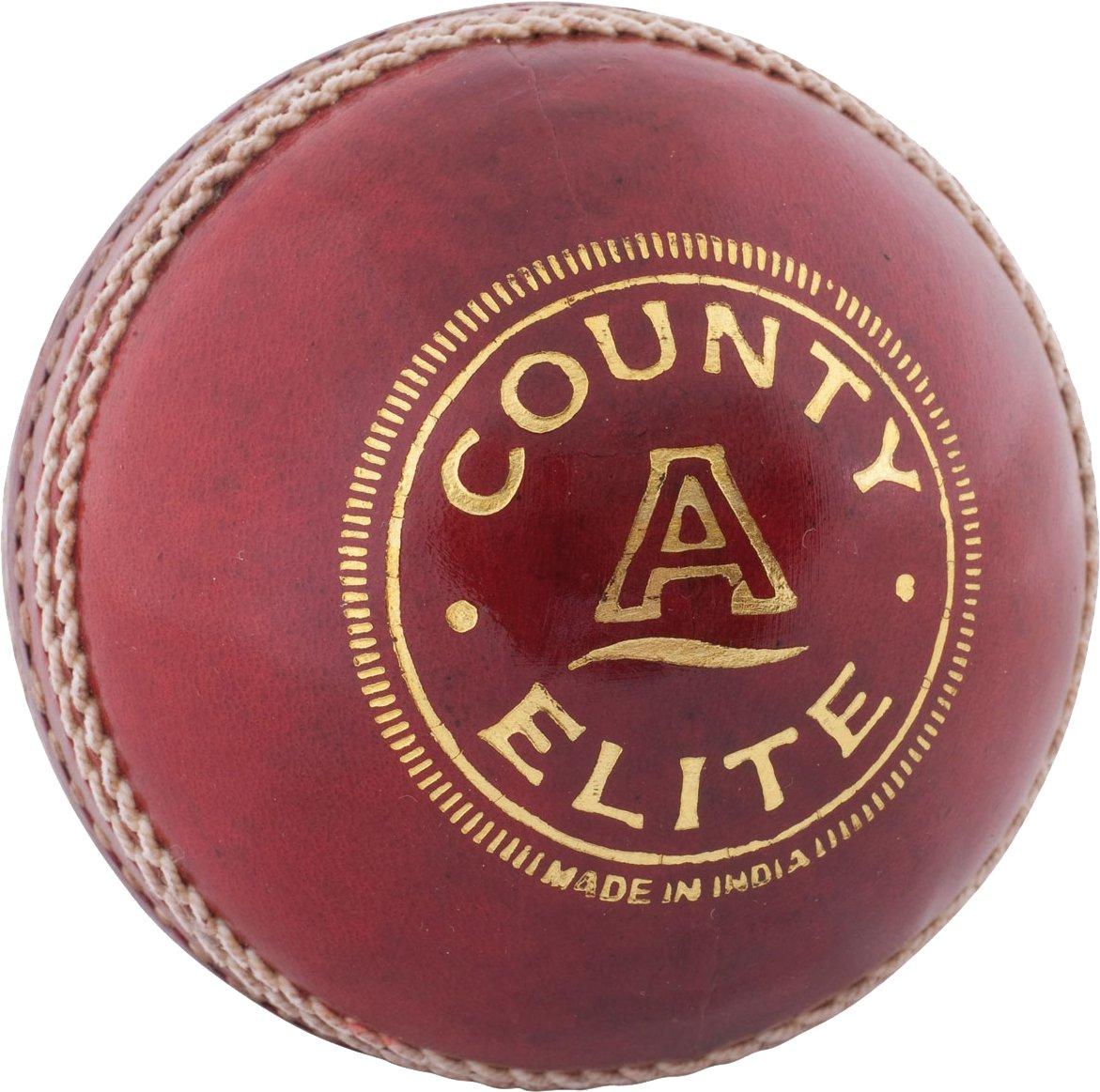 Only lecteurs de Elite 'A' Balle de cricket–Cuir de qualité Lit avec jeu Match * * * NEUF