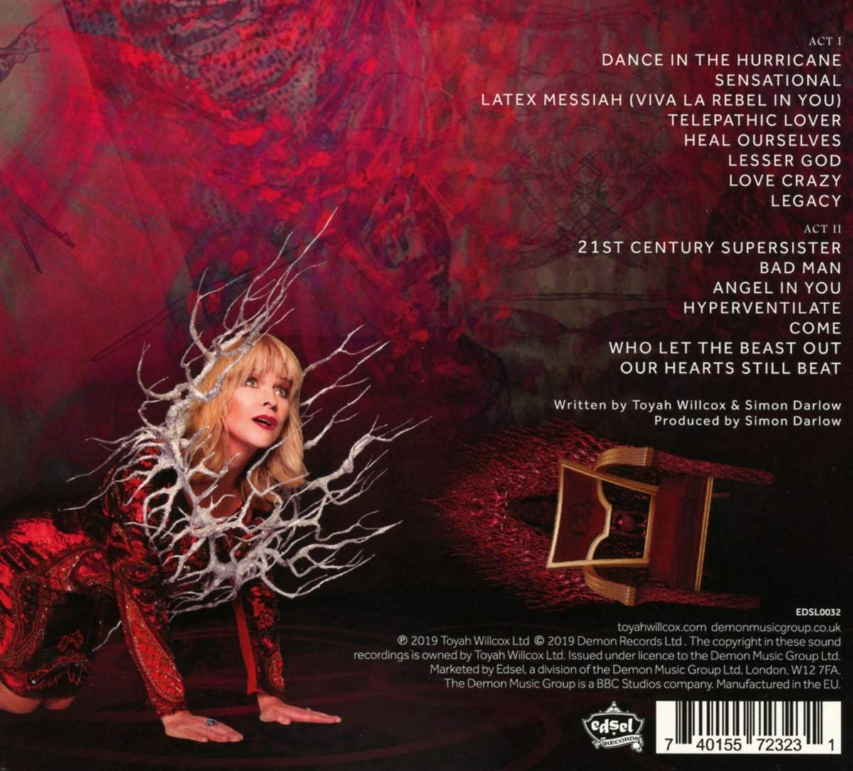 Toyah In The Court Of The Crimson Queen Music