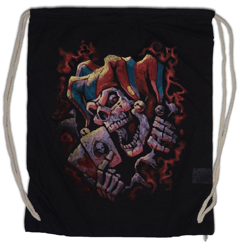 Urban Backwoods Joker Skull II Bolsa de Cuerdas con Cordón ...