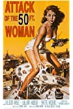Attack of the 50 ft Woman Poster Print, 24x36 Poster Print, 24x36