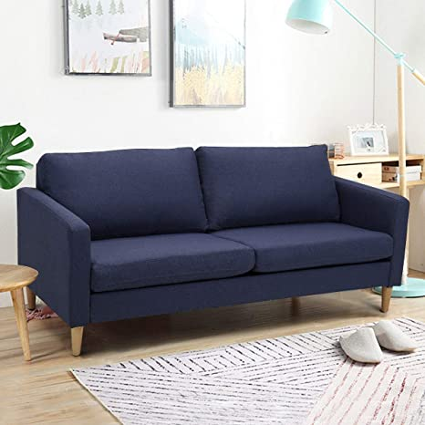 Amazon.com: Mandycng Contemporary Elegant Living Room Sofa ...