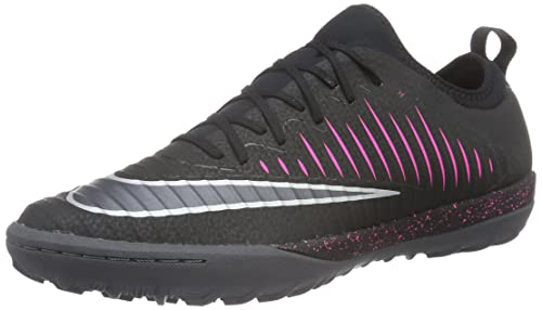 timeless design 1a1aa cd9f4 Nike Mercurialx Finale II TF, Botas de fútbol para Hombre, Negro Black-Pink  Blast-Gum Light Brown, 44 1/2 EU: Amazon.es: Zapatos y complementos