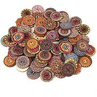 100 piezas de 25 mm de color mezclado