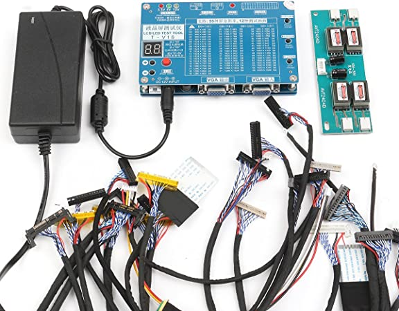 KUNSE 7-84inch LVDS Pantalla LCD LED Panel Tester de Pantalla para TV Ordenador portátil reparación: Amazon.es: Hogar