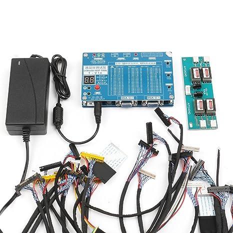 KUNSE 7-84inch LVDS Pantalla LCD LED Panel Tester de Pantalla para TV Ordenador portátil