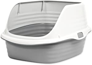 PETMATE STAY FRESH RIMMED PAN LARGE ASSORTED