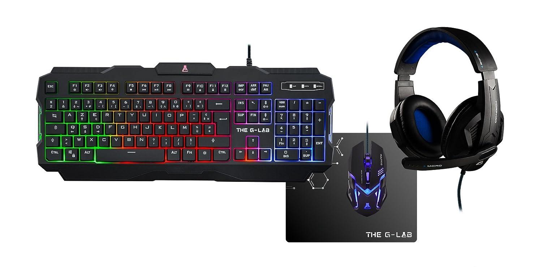 Unbekannt The g-lab Combo-Argon/FR Kopfhörer für PC Gaming