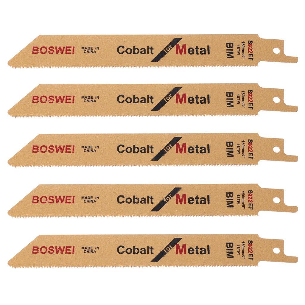 'exing 5 unidades s922ef 152 mm 6bim Sable Sierra de sable hojas de sierra sable sä ue hojas Juego flexible para metal
