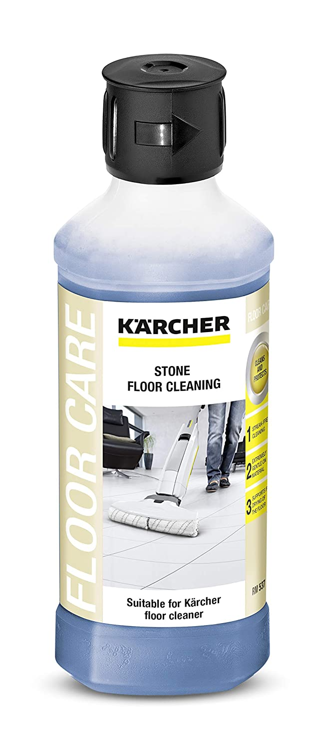 Karcher Stone Floor Cleaner, 16.9 oz, Blue