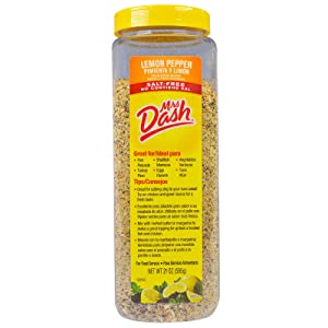 Mrs Dash Lemon Pepper Salt-Free Blend, 21 Ounce (1 Unit)