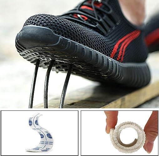 39-47 Ucayali Zapatos de Seguridad Hombre Trabajo C/ómodas Zapatillas de Trabajo con Punta de Acero Ultraligero Transpirables
