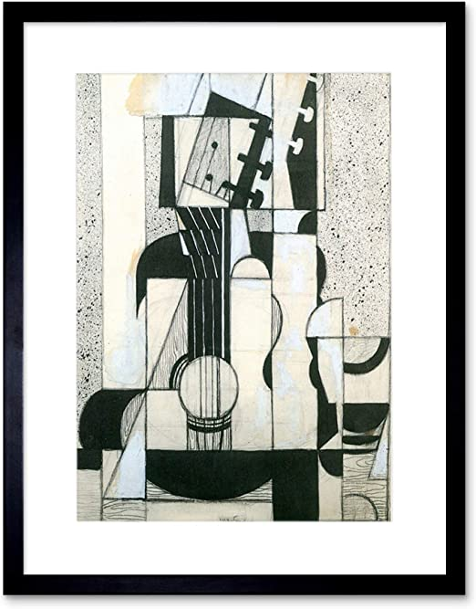 Wee Blue Coo Juan Gris Still Life with Guitar Old Master Lámina ...