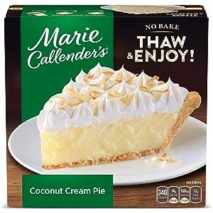 Marie Callender's Coconut Cream Pie Frozen Dessert, 30.3 Ounce