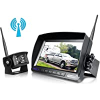 Amazon best sellers best vehicle backup cameras zeroxclub digital wireless backup camera system kitno interferenceip69 waterproof wireless rear view freerunsca Image collections