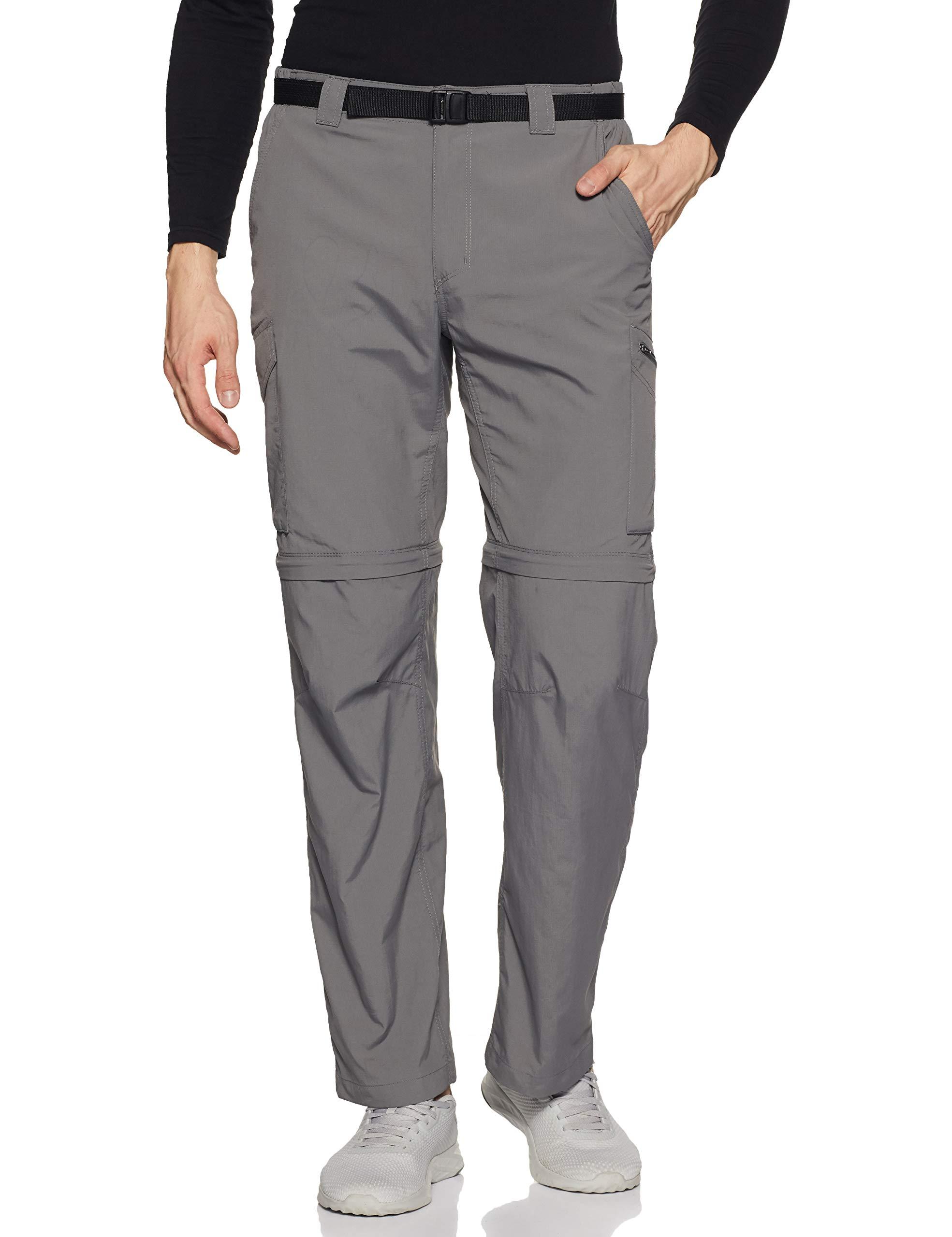 Choose SZ//color Sag Columbia Men/'s Silver Ridge Convertible Pants