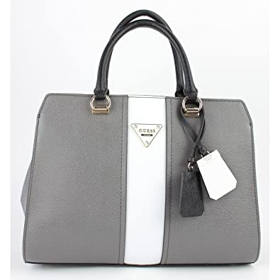 Bags co ukShoesamp; Sac Satchel Gris Guess Cooper MélangéAmazon 9DIW2HEY