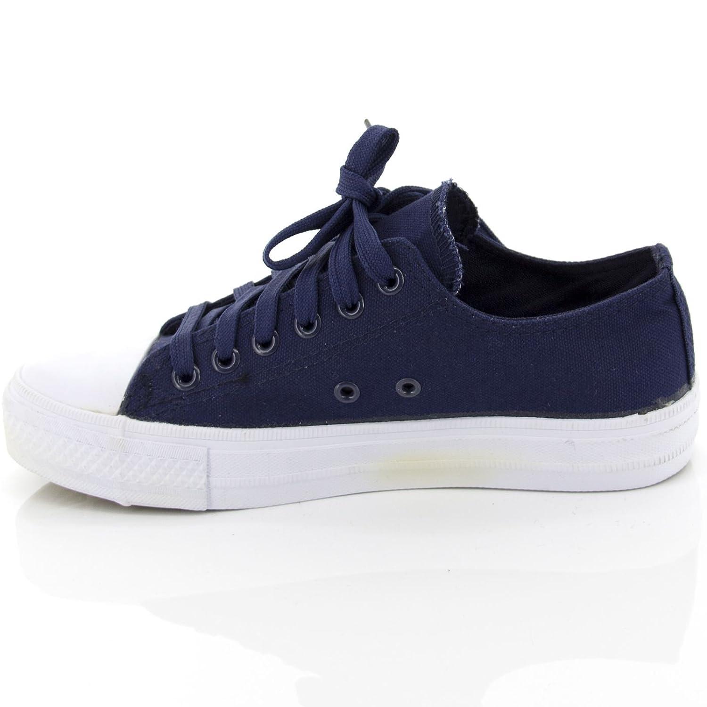 Netgozio Scarpe da Ginnastica Donna Sneakers Basse Casual Comode Tela Ecopelle Strass 5KHRgOFfwh
