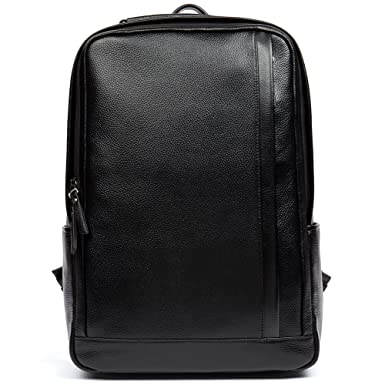 Amazon.com | Clearance Laptop Backpack For Men Genuine Leather ...