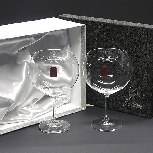 Set/Estuche de 2 copas de cristal para gin tonic, colección