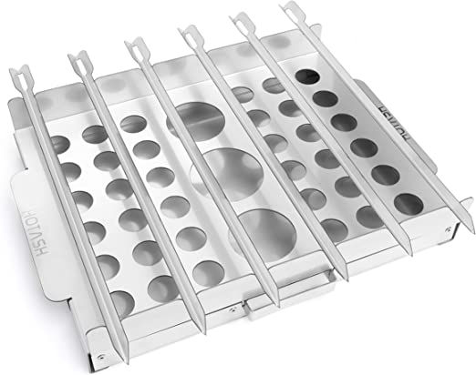Hot Ash Parrilla Modular, 5 Herramientas de cocción en 1 – Hacer ...
