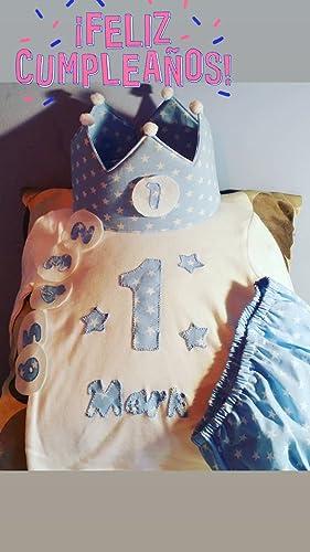 PACK cumpleaños azul bebe estrella: Amazon.es: Handmade