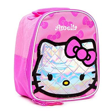f1d546fcaec Amazon.com  Personalized Licensed Lunch Bag (Hello Kitty)  Clothing