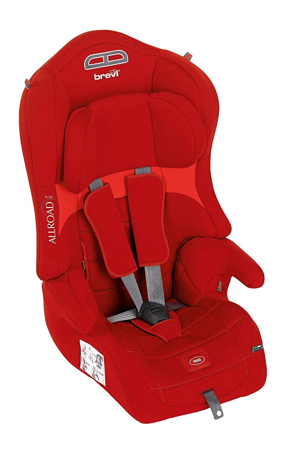 Brevi Allroad Group 1/2/3 Car Seat (Red) 511-233