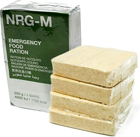 MSI Notration NRG-M - Raciones de comida de emergencia: Amazon.es: Deportes y aire libre
