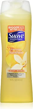 Suave Essentials Everlasting Sunshine 6-Pack of 15 Fl Oz Body Wash