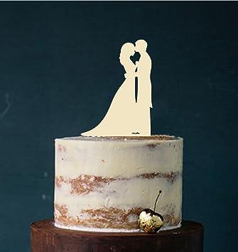 Edelstahlheini De Cake Topper Tortenstecker Tortenfigur Acryl