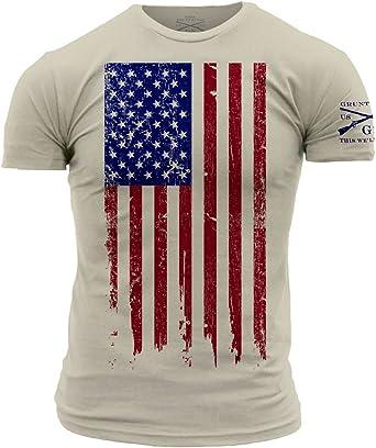 Custom Apparel R Us Patrioctic American Flag USA Girls Boys Long Sleeve