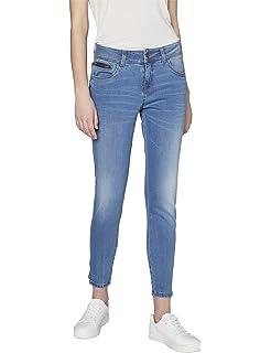 Blau Strong Blue Jeans Femme Colorado Denim C912 Damen Ankle Comfort Slim Fit