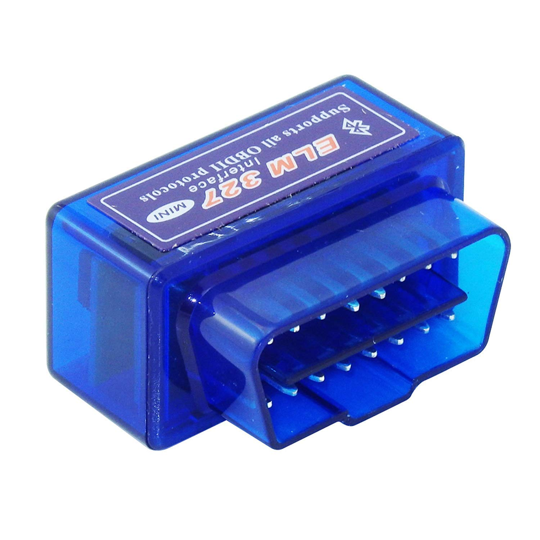 DOXMAL Elm327 Bluetooth OBD2 V2.1 Bluetooth OBD-II OBD2 Auto Coche Herramienta de An/álisis de Diagn/óstico del Coche Elm327 Luz de Control del Motor para Android//Droid//Torque Azul