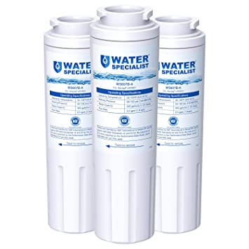 Waterspecialist NSF 53&42 Certified UKF8001 Refrigerator Water Filter,  Replacement for Maytag UKF8001P, Whirlpool EDR4RXD1 EveryDrop Filter 4 PUR