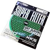 HKS スーパーパワーフローΦ200交換用フィルター(カラー:グリーン)乾式3層タイプ 70001-AK022 エアクリーナー