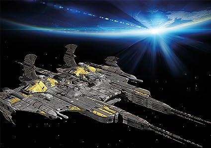Space Battleship Wallpaper 80 Inch X 55 Inch Xxl Spaceship