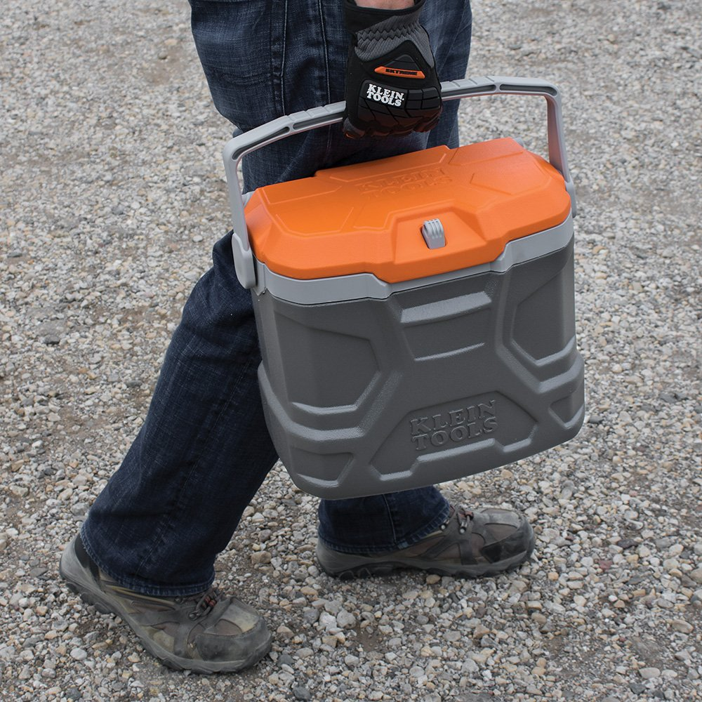 Lunch Box, Insulated Cooler Tote Has 9-Quart Capacity and Seats up to 300 Pounds Klein Tools 55625 by Klein Tools (Image #8)