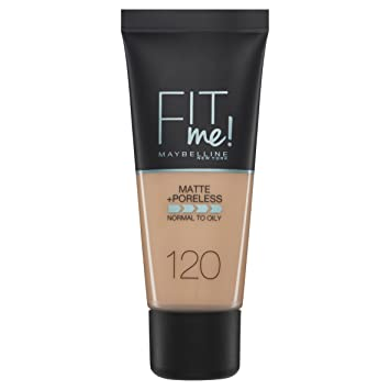 Resultado de imagen de fit me matte and poreless maybelline 120 spanish