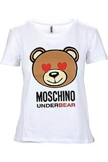 068919b89 Moschino Women's T-Shirt: Amazon.co.uk: Clothing